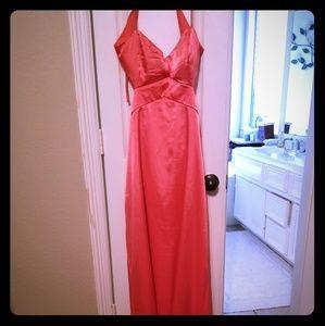Josh And Jazz Size 13/14 Formal Peach Dress